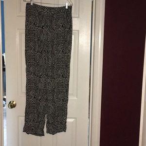 Patterned dress pants